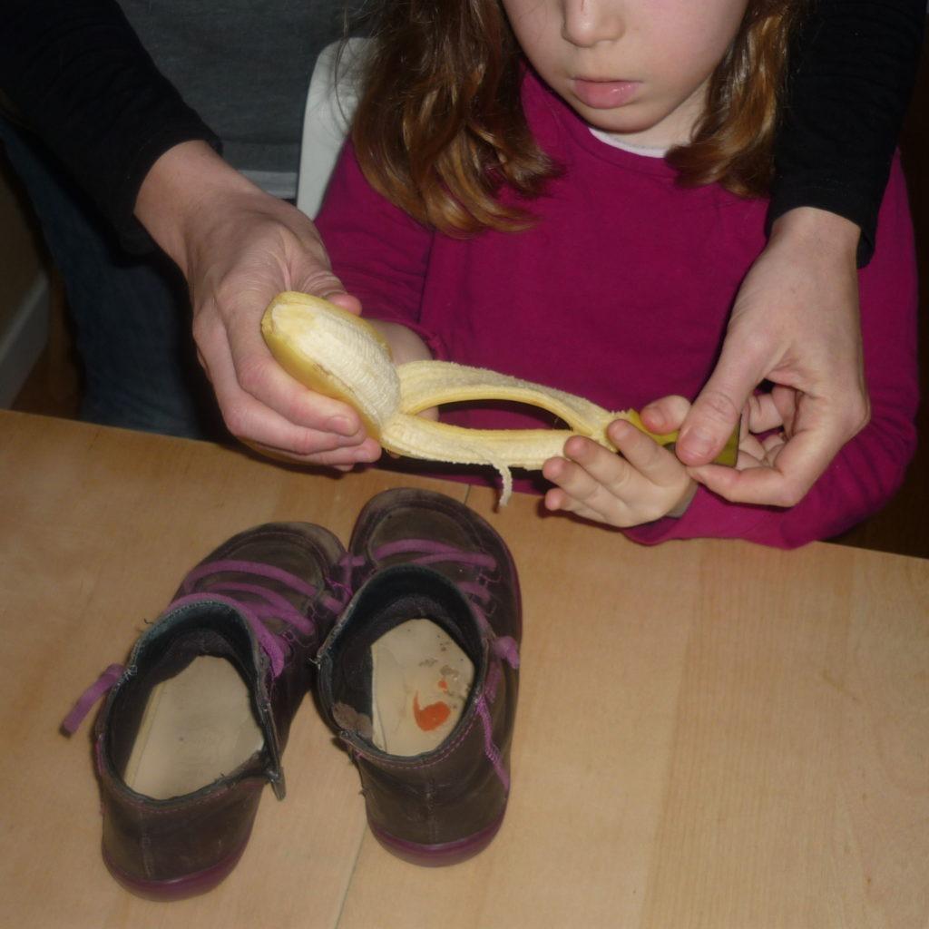 Cirage à la banane