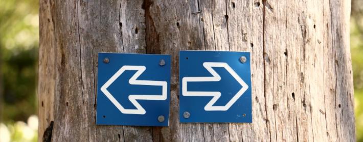 Pied gauche ou pied droit ?