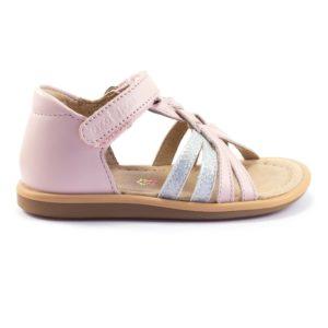 Shoo Pom Tity Grigri Pink/Silver
