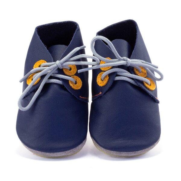 Inch Blue Derby Navy/Tangerine Gripz